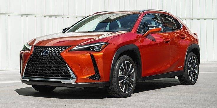 o crossover Lexus UX 2020
